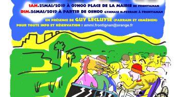 Affiche de la 6ème Journée 2CV Vélo A Pieds au profit de l'Ammi