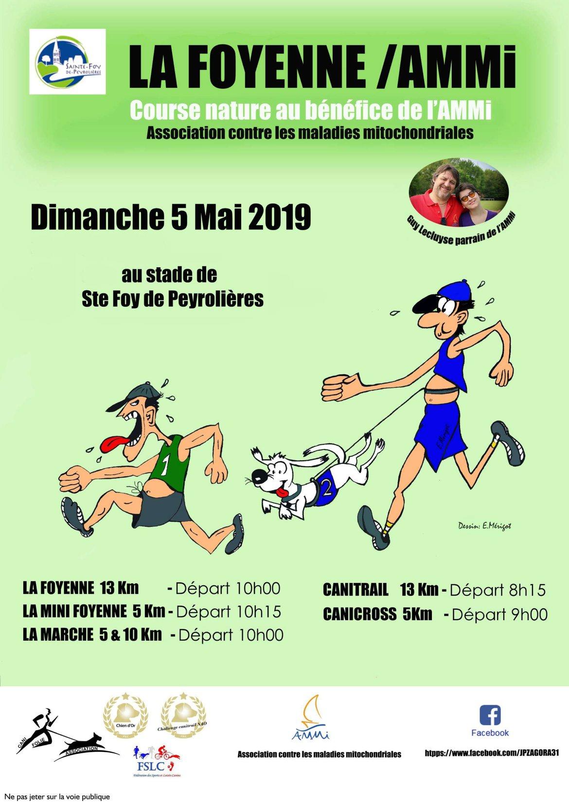 Affiche de l'événement Ammi/LaFoyenne du 5 mai 2019